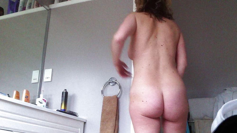 Moms nude caught on camera — 3